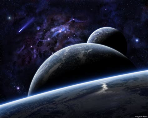 Amazing Another Space Scenery  Okay Wallpaper