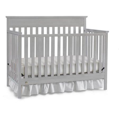 fisher price newbury crib fisher price newbury 4 in 1 convertible crib gray