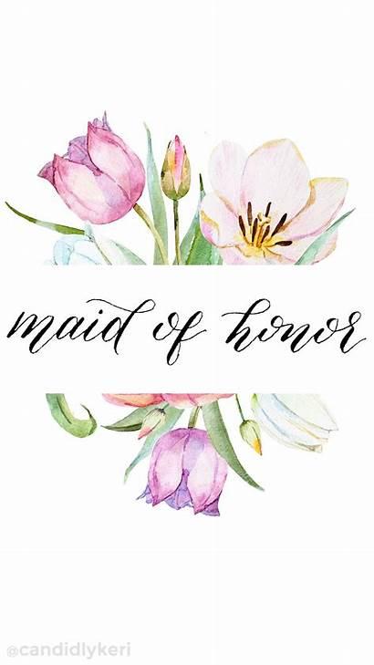 Calligraphy Watercolor Honor Flower Desktop Floral Jen