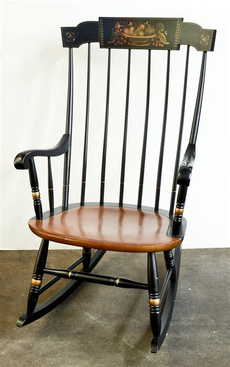 Hitchcock Furniture Rocking Chair by Hitchcock Furniture At Nest Egg Auctions