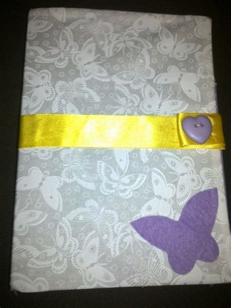 cute notebook cover  book cover embroidery  sewing