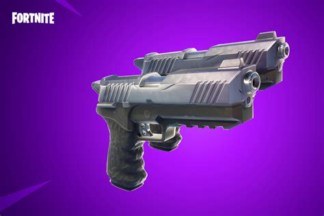 fortnite pistolet double nouvelle arme du patch