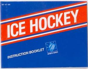 Ice Hockey Nes Manual Nintendo Nes Instructions For Sale
