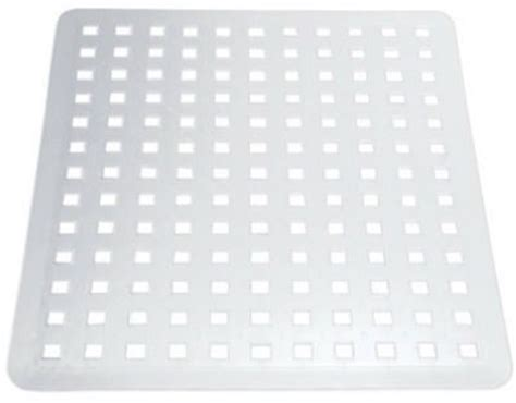 Interdesign Euro Kitchen Sink Protector Mat, Large, Clear