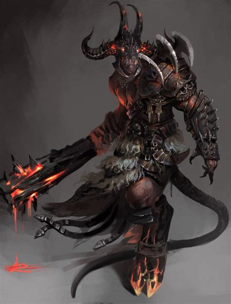 Here's to us, dnd nerds around the globe. devil3, chunfeng liu on ArtStation at https://www.artstation.com/artwork/6R9ON | Fantasy ...