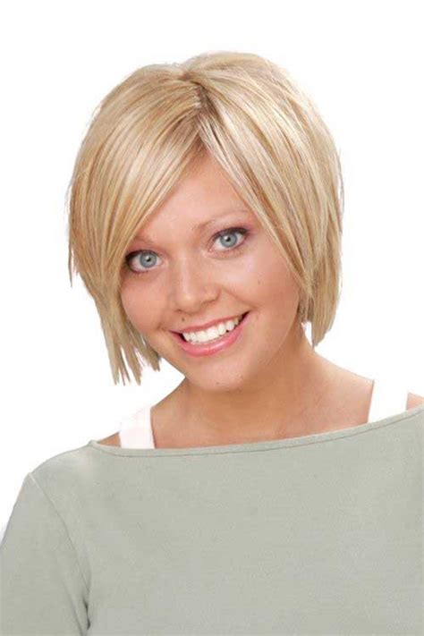 cute short hairstyles   faces short