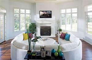 living room curved sofas and sectionals round lounge With round sectional sofa decorating ideas