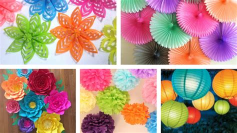 paper craft ideas for top 6 paper craft decoration styles that will make any 7008
