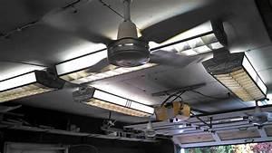 Garage Fans  U0026 Lights - Stage 1  Preheat Startup Video  Fans On All Speeds