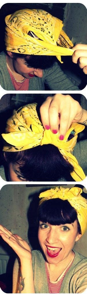 how to style hair with a bandana best 25 bandana hairstyles ideas on hair 7071