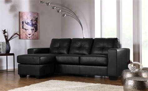 idée canapé idee deco canape cuir noir ciabiz com