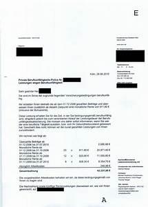 Berufsunfähigkeitsversicherung Berechnen : berufsunf higkeitsrente bekommen hier hat es geklappt ~ Themetempest.com Abrechnung
