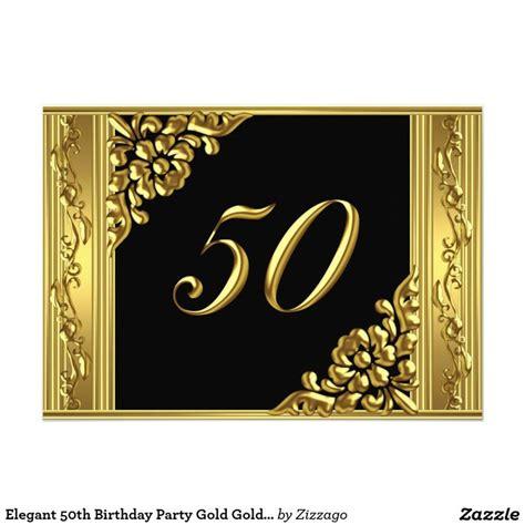 elegant  birthday party gold golden  black
