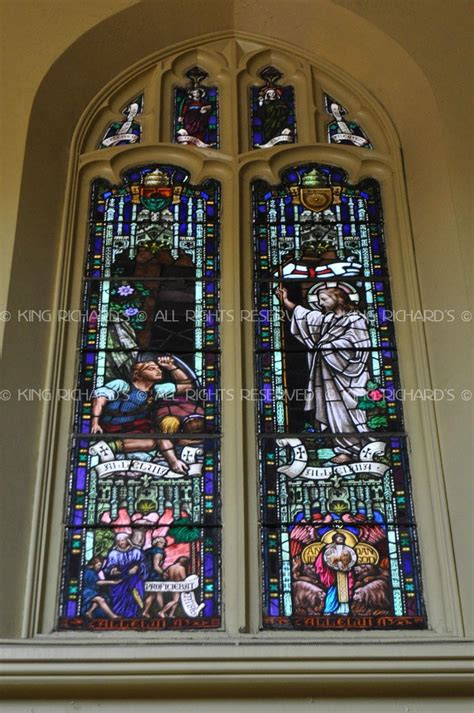 antique stained glass windows full sets