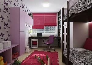 Dětské pokoje pro dívky