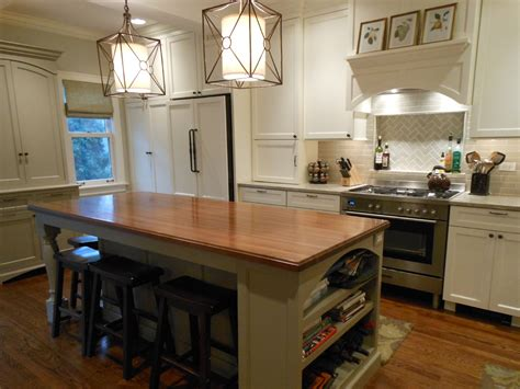 kitchen island butcher plans for a butcher block kitchen island derektime