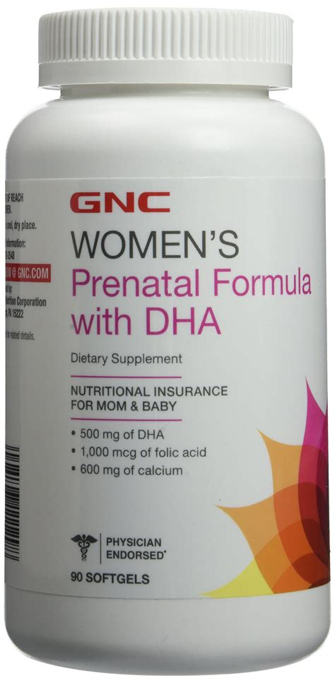 Amazon.com: GNC Womens Prenatal Formula with Iron 120