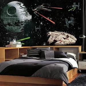 RoomMates 72 in. W x 126 in. H Star Wars Vehicles XL Chair ...