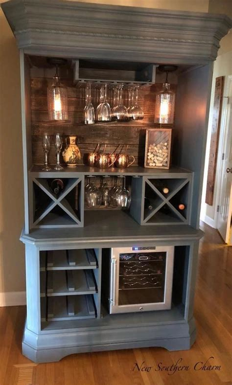 Cabinet Bar Ideas by Armoire Bar Cabinet Coffee Station Wine Cabinet Rustic