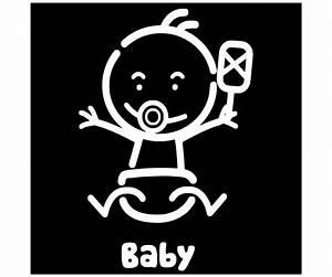Stickers Pour Vitre : sticker adh sif fun pour vitre arri re voiture picto b b bord 2943 ~ Melissatoandfro.com Idées de Décoration