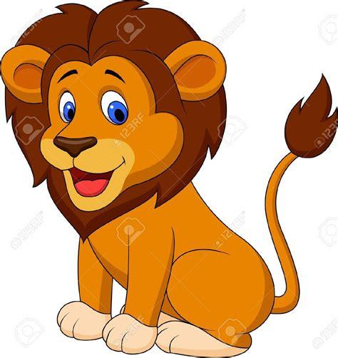 lion goofy clipart  ghent elem lion drawing funny