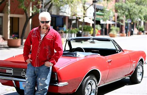How many cars does Guy Fieri own?