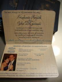 Steph's DIY passport invites - pictures, instructions and