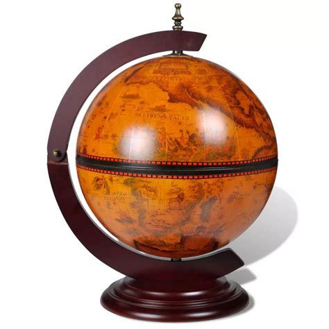 image of gun storage liquor tabletop bar globe with embowed stand wine liquor table