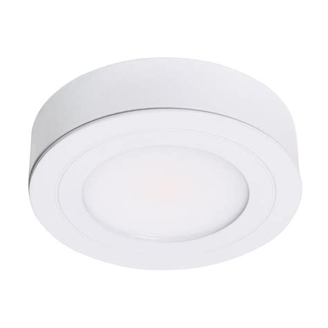 ge enbrighten led puck lights puck lights richee volt led puck light 6000k cool white