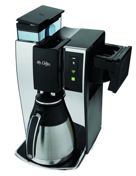 54 setting up your coffeemaker congratulations on your new mr. Mr. Coffee® Smart Optimal Brew™ 10-Cup Programmable Coffee Maker with Wemo®, BVMC-PSTX91WE