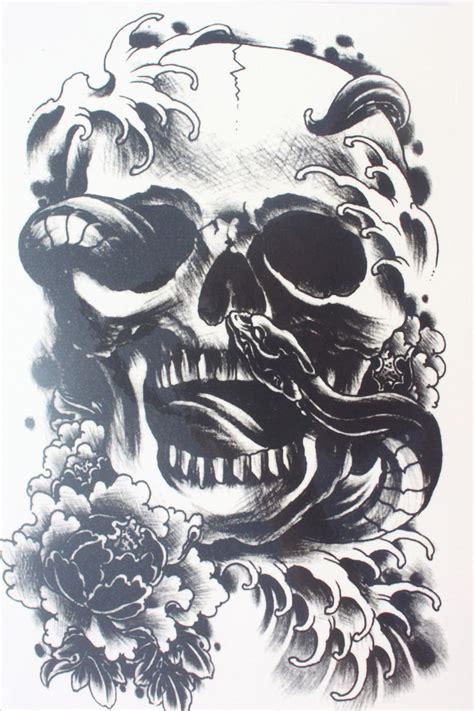 Black Skull Tattoos Reviews  Online Shopping Black Skull