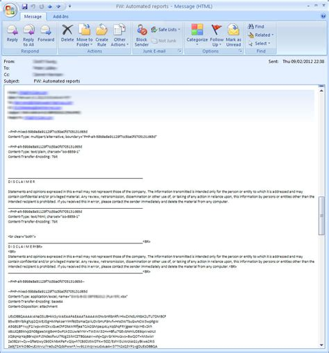 How To Type Resume In Outlook by Is There An Alternative Method For Sending Email Attachments In Php Stack Overflow
