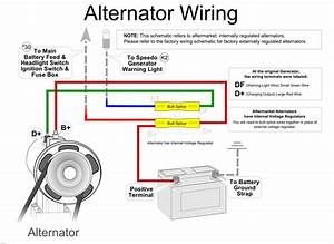 Bike Alternator Generator Wiring Diagram