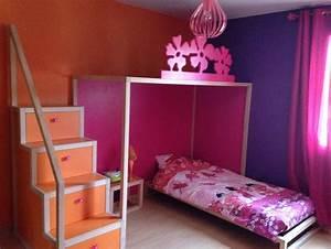 Chambre De Jeune Fille : meuble chambre jeune fille avec des id es int ressantes pour la conception de la ~ Preciouscoupons.com Idées de Décoration