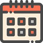 Calendar Icon Month Date Editor Open