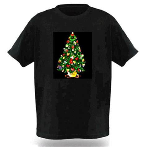 wholesale electro luminescent led shirt with music