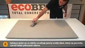 Stěrka imitace betonu