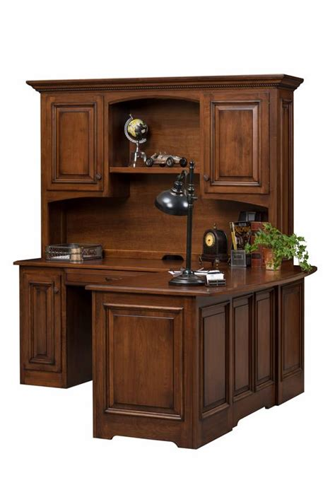 liberty classic corner desk with optional hutch top from