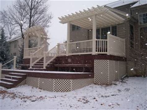 Melt For Wood Decks by Composite Deck Melt Composite Deck