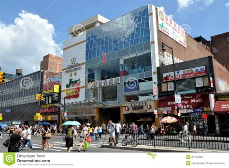 modern in nyc nyc new world mall in flushing editorial image image 20784050