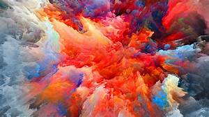 4k, Colorful, Blast, Of, Smoke, Wallpaper, Hd, Artist, 4k