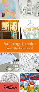 20 Awesome Things To Color