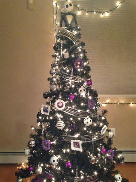 black christmas tree  gothic style home design