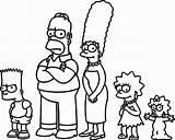 Simpsons Coloring Simpson Printable Bart Characters Cartoon Colorings Maggie Youtuber Getcolorings Getdrawings sketch template