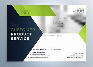 Creative Green Modern Brochure Flyer Template Presentation