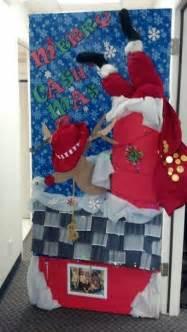 christmas door decorating contest office door contest pinterest