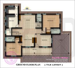 flor plan floor plan and elevation of 2350 square house indian house plans