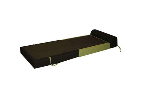 chauffeuse lit d appoint 1 place chappo coloris noir et