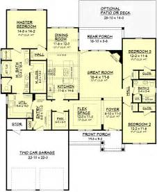 www house plans craftsman style house plan 3 beds 2 baths 2136 sq ft plan 430 91
