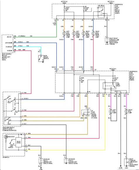 2003 Saturn L200 Wiring Diagram by The Headlights On The Driver Side Only Will Not Come On I